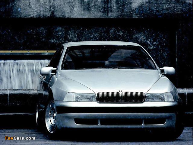 ItalDesign Jaguar Kensington 1990 photos (640 x 480)