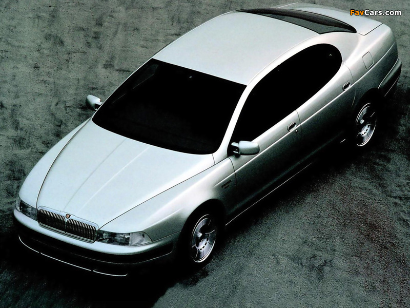 Photos of ItalDesign Jaguar Kensington 1990 (800 x 600)