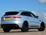 Jaguar F-Pace 20d AWD R-Sport UK-spec 2016 wallpapers
