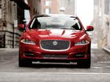 Jaguar XJ AWD US-spec (X351) 2012 wallpapers