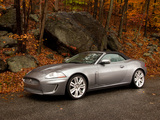 Jaguar XKR Convertible US-spec 2009–11 pictures