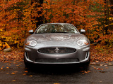 Jaguar XKR Convertible US-spec 2009–11 wallpapers