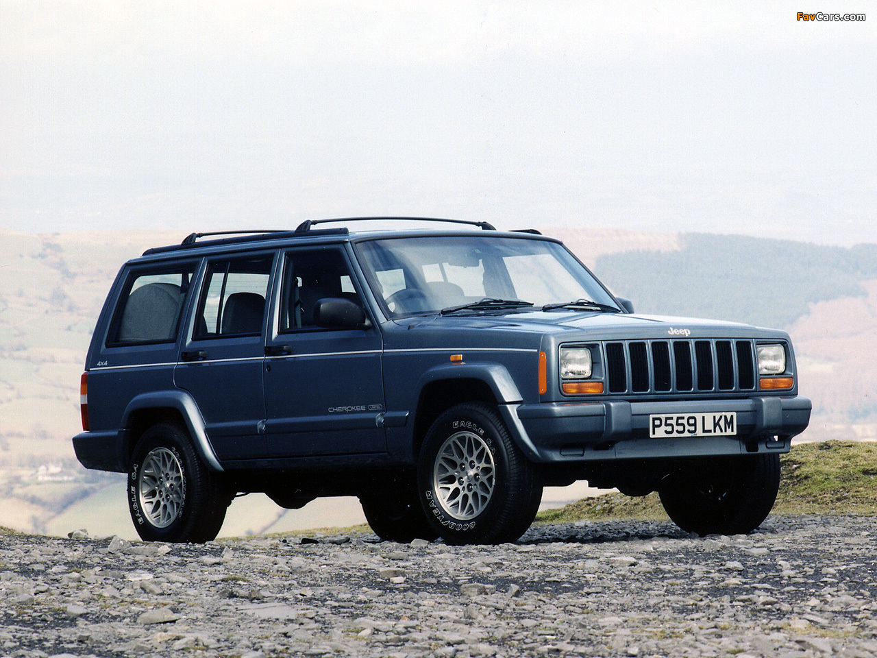 2001 Jeep Xj >> Wallpapers of Jeep Cherokee Limited UK-spec (XJ) 1998–2001 (1280x960)