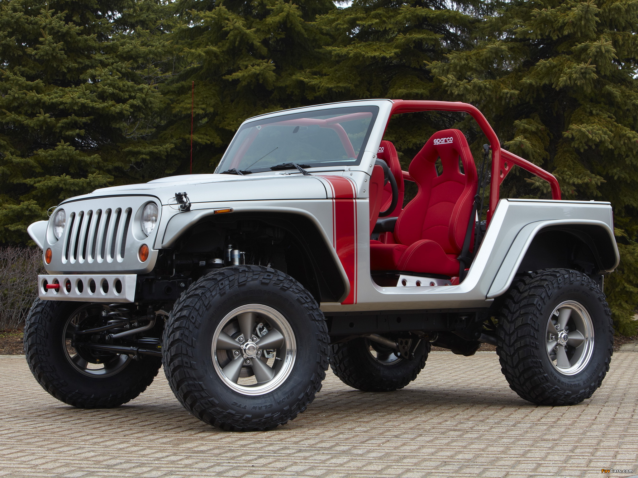 Images of Mopar Jeep Wrangler Pork Chop Concept (JK) 2011
