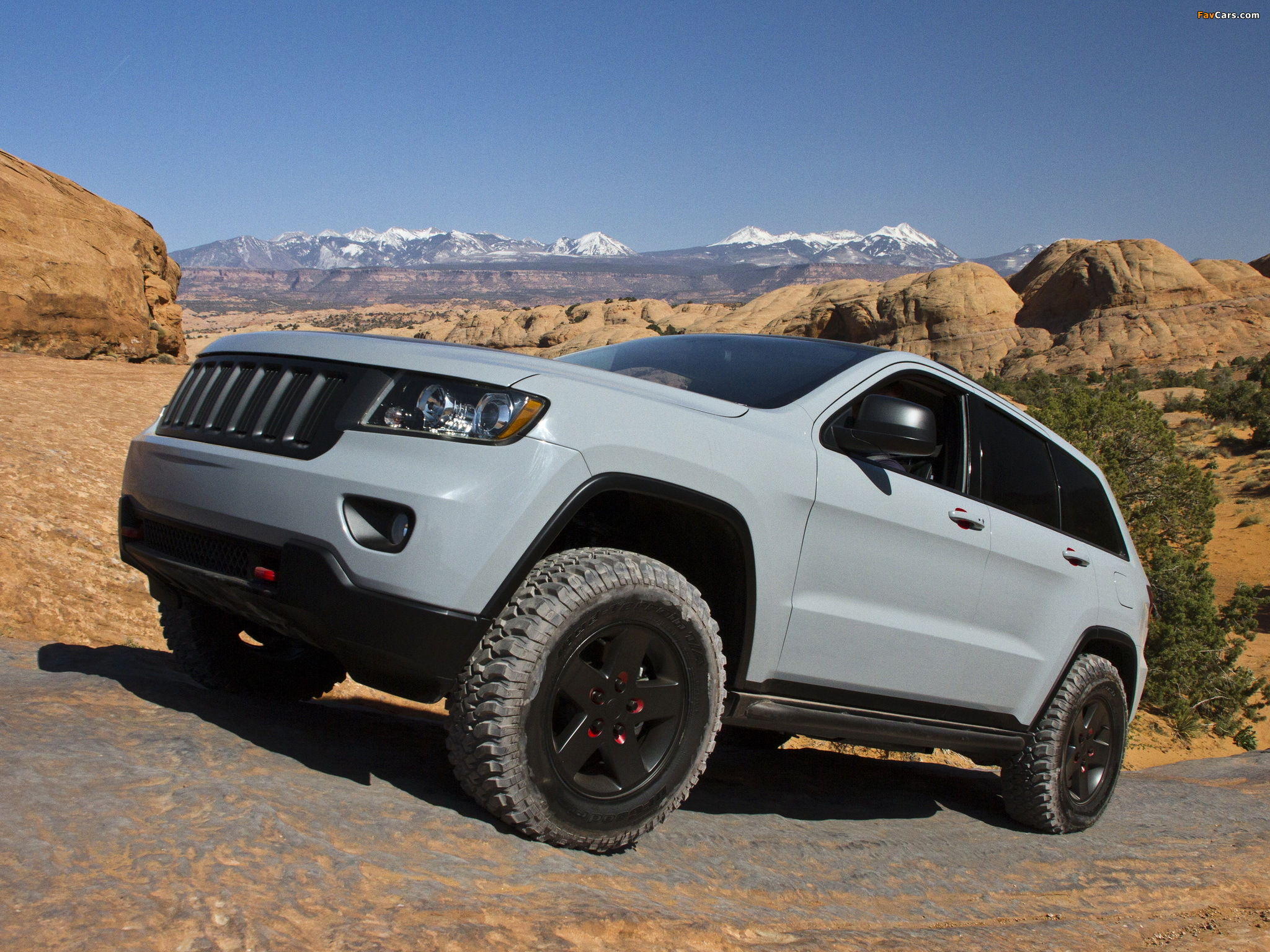 Mopar Jeep Grand Cherokee Off Road Edition Concept Wk2