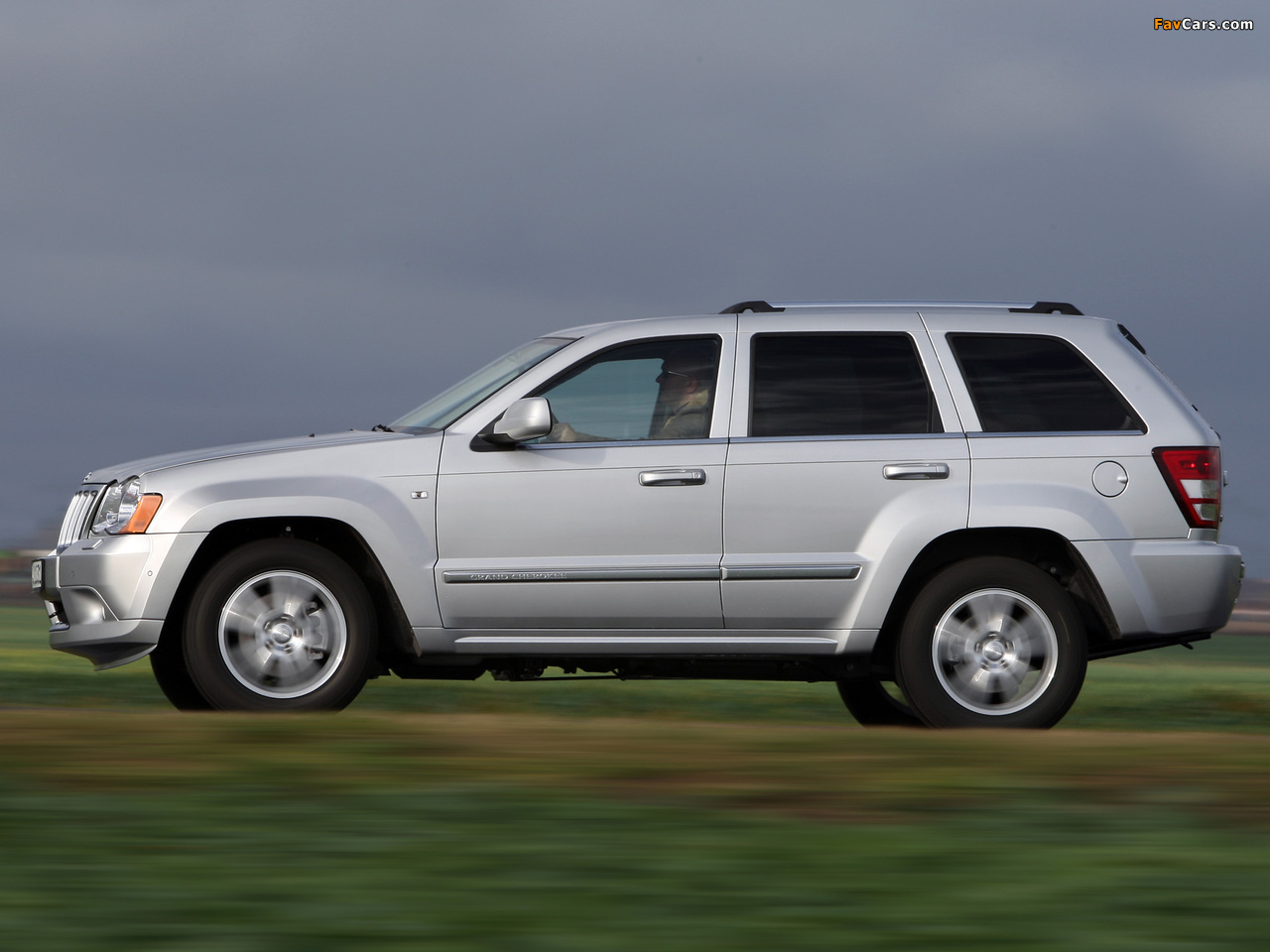 Images Of Jeep Grand Cherokee Crd Overland Wk 2008 10