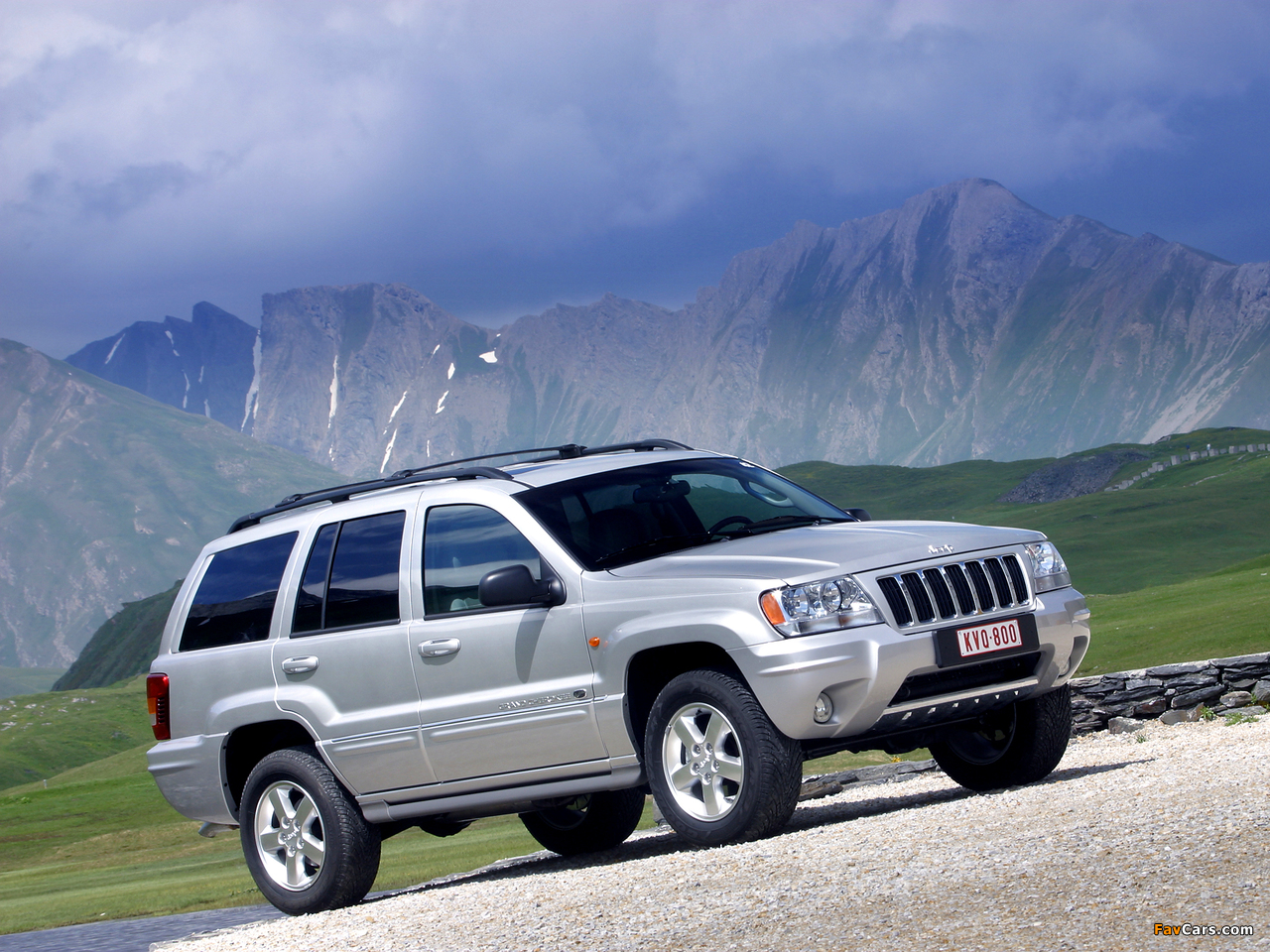 Grand Cherokee Wj Overland >> Images of Jeep Grand Cherokee Overland (WJ) 2002–04 (1280x960)