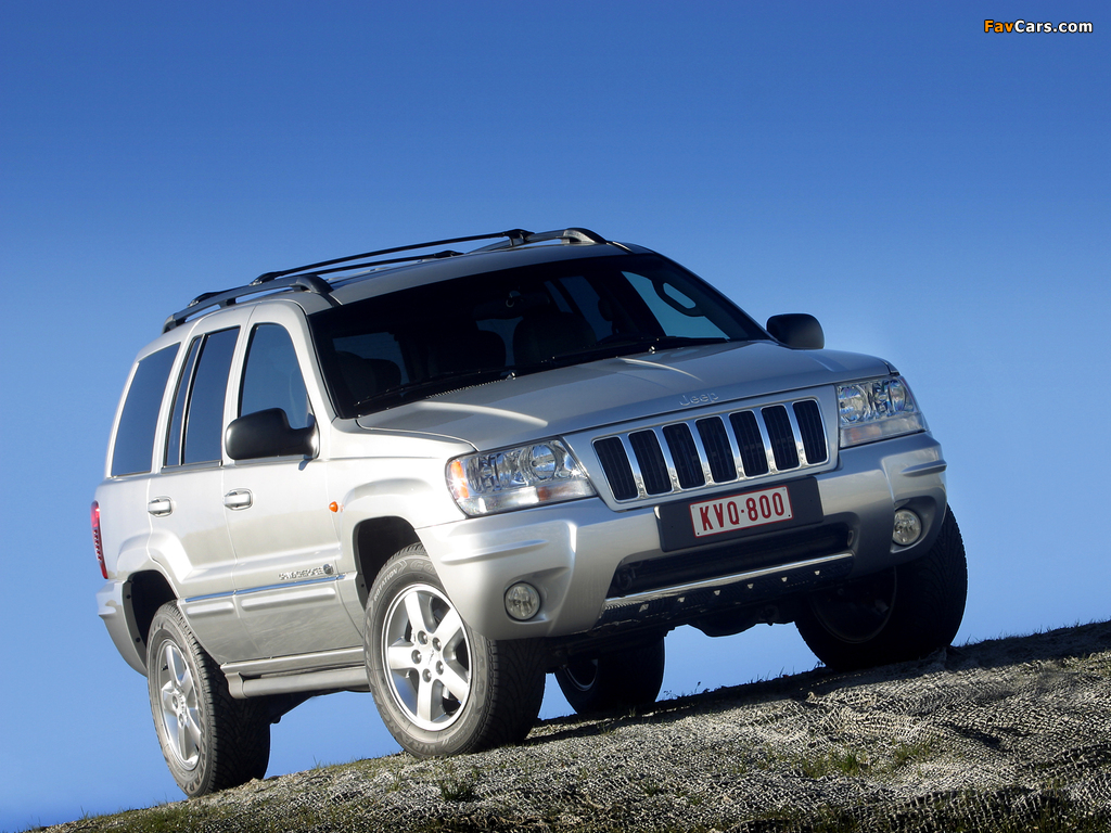 jeep grand cherokee overland wj 2002 04 pictures 1024x768. Cars Review. Best American Auto & Cars Review