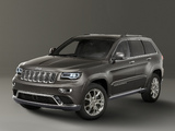 Photos of Jeep Grand Cherokee Summit EU-spec (WK2) 2013