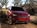 Pictures of Jeep Grand Cherokee Overland (WK2) 2013