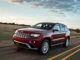 Jeep Grand Cherokee Summit (WK2) 2013 wallpapers