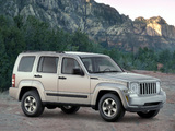 Jeep Liberty Sport 2007 wallpapers