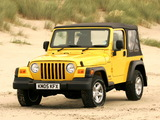 Images of Jeep Wrangler Sport UK-spec (TJ) 1997–2006