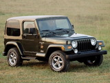 Jeep Wrangler Sahara (TJ) 1996–2002 wallpapers