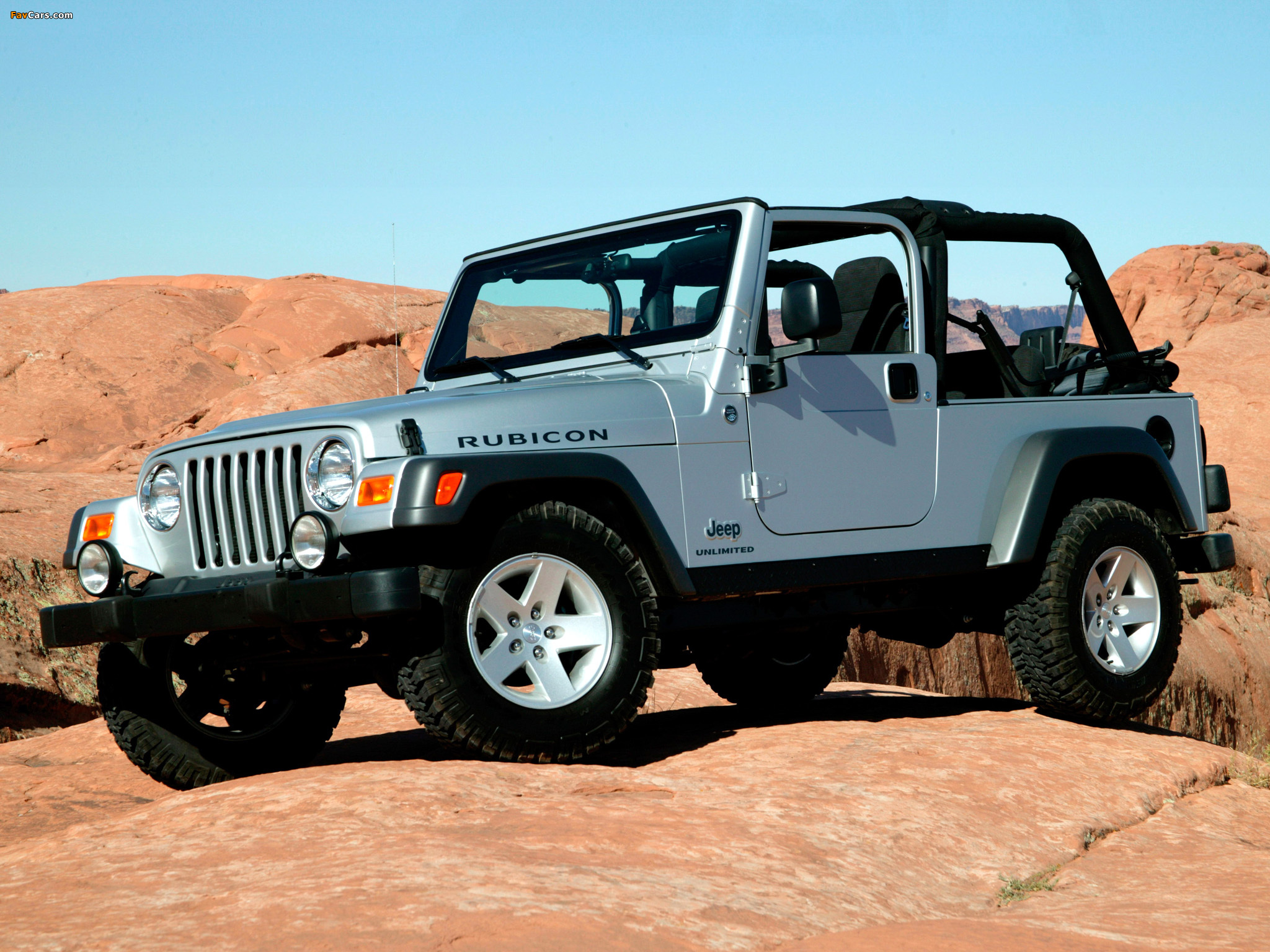 Jeep Wrangler Unlimited Tj 2005 06 Images 2048x1536