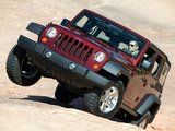 Jeep Wrangler Unlimited Rubicon (JK) 2006–10 images