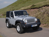 Jeep Wrangler Sport UK-spec (JK) 2007 photos