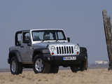 Jeep Wrangler Sport UK-spec (JK) 2007 pictures