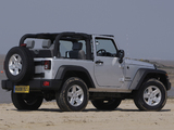 Jeep Wrangler Sport UK-spec (JK) 2007 wallpapers