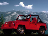 Pictures of Jeep Wrangler Renegade (YJ) 1991–94
