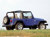 Pictures of Jeep Wrangler Sport (TJ) 1997–2006