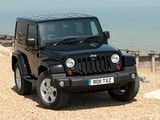Pictures of Jeep Wrangler 70th Anniversary UK-spec (JK) 2011