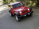 Jeep Wrangler Rubicon (JK) 2006–10 wallpapers