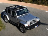 Jeep Wrangler Sahara Unlimited (JK) 2011 wallpapers