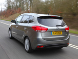 Kia Carens EcoDynamics UK-spec 2013 pictures