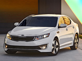 Pictures of Kia Optima Hybrid (TF) 2011–14