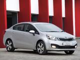 Images of Kia Rio Sedan ZA-spec (UB) 2012