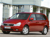 Kia Sedona SWB UK-spec 2010 images