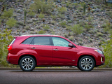 Kia Sorento SX US-spec (XM) 2012 wallpapers