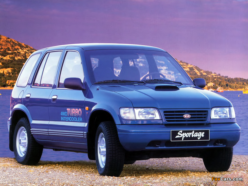 Images Of Kia Sportage 1993–98 (800x600