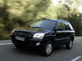 Images of Kia Sportage US-spec (KM) 2004–08