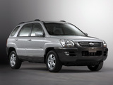 Pictures of Kia Sportage US-spec (KM) 2004–08