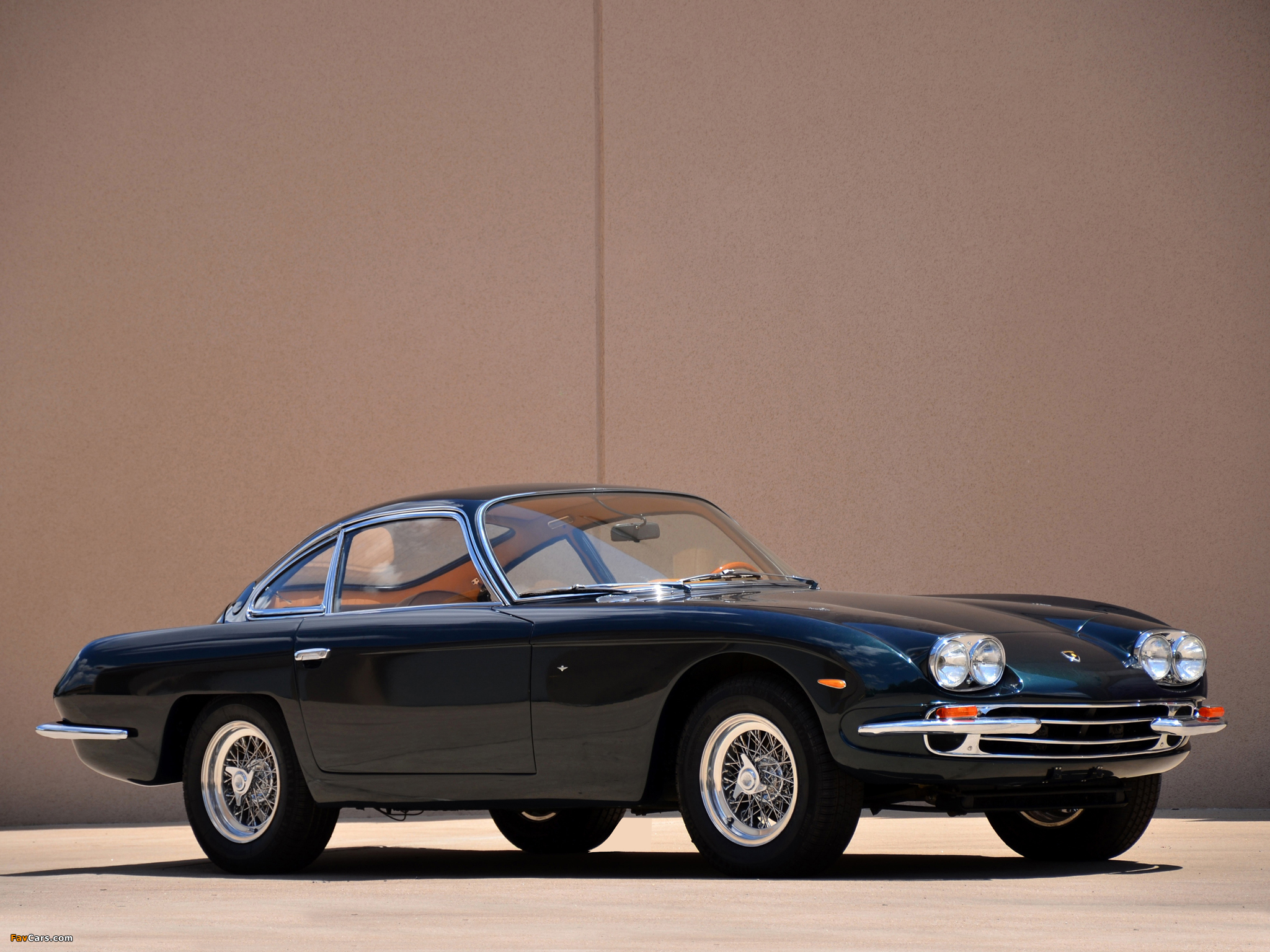 Lamborghini 400 GT 2+2 1966–68 photos (2048 x 1536)