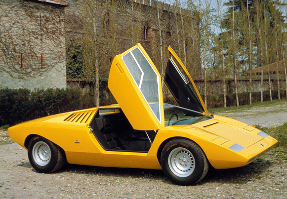 Lamborghini Countach Lp500 Concept 1971 Wallpapers
