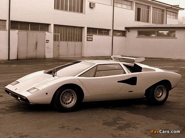 Lamborghini Countach Lp400 1974 78 Photos 640x480