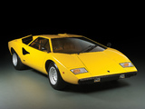 Lamborghini Countach LP400 UK-spec 1974–78 wallpapers
