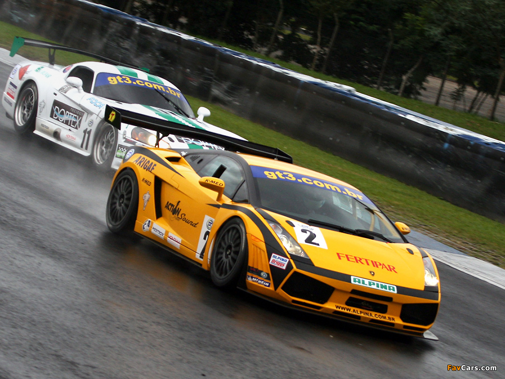 Wallpapers Of Lamborghini Gallardo Gt3 2006 09 1024x768