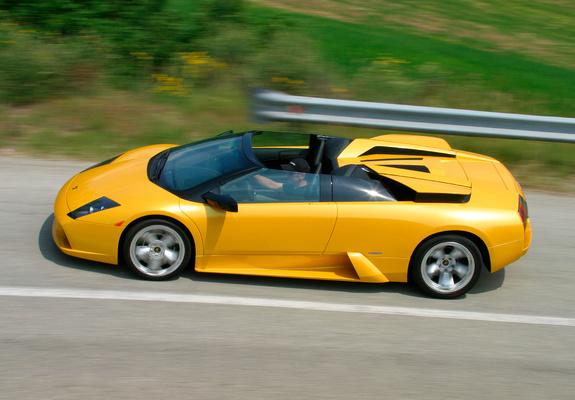 Lamborghini Murcielago Roadster 2004 06 Images