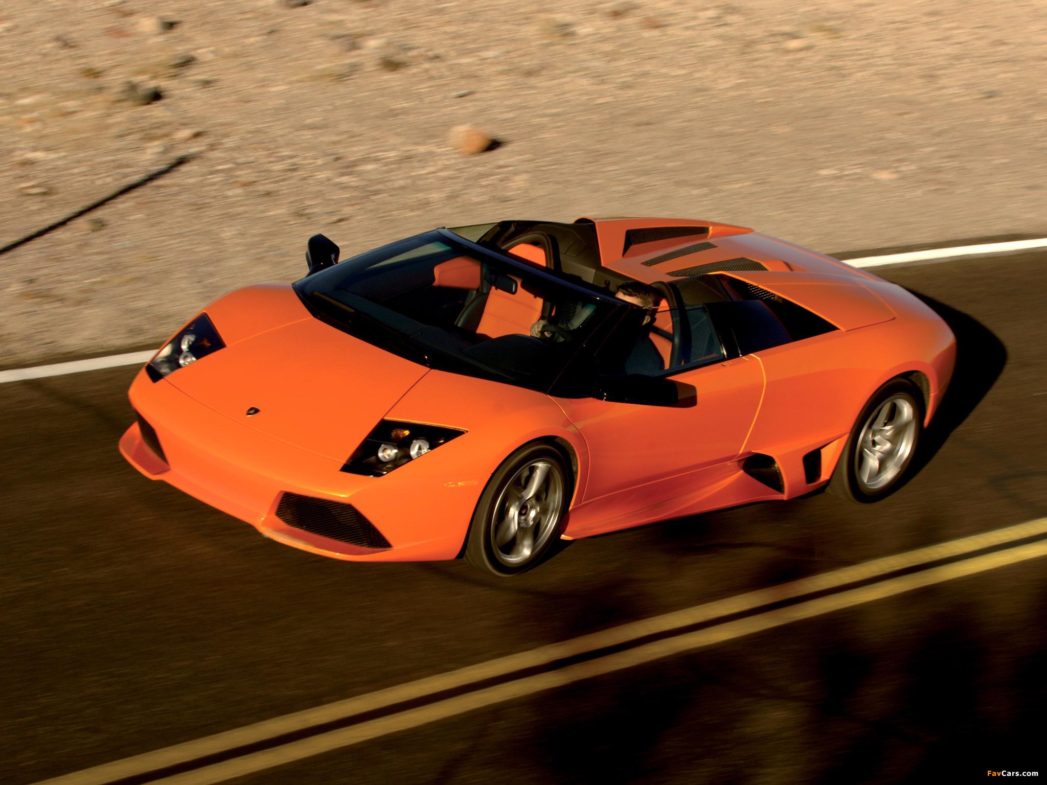 Lamborghini Murcielago LP640 Roadster 2006–10 pictures (2048 x 1536)