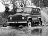 Land Rover 90 County Station Wagon 1983–90 photos