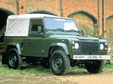 Land Rover 90 Soft Top 1983–90 pictures
