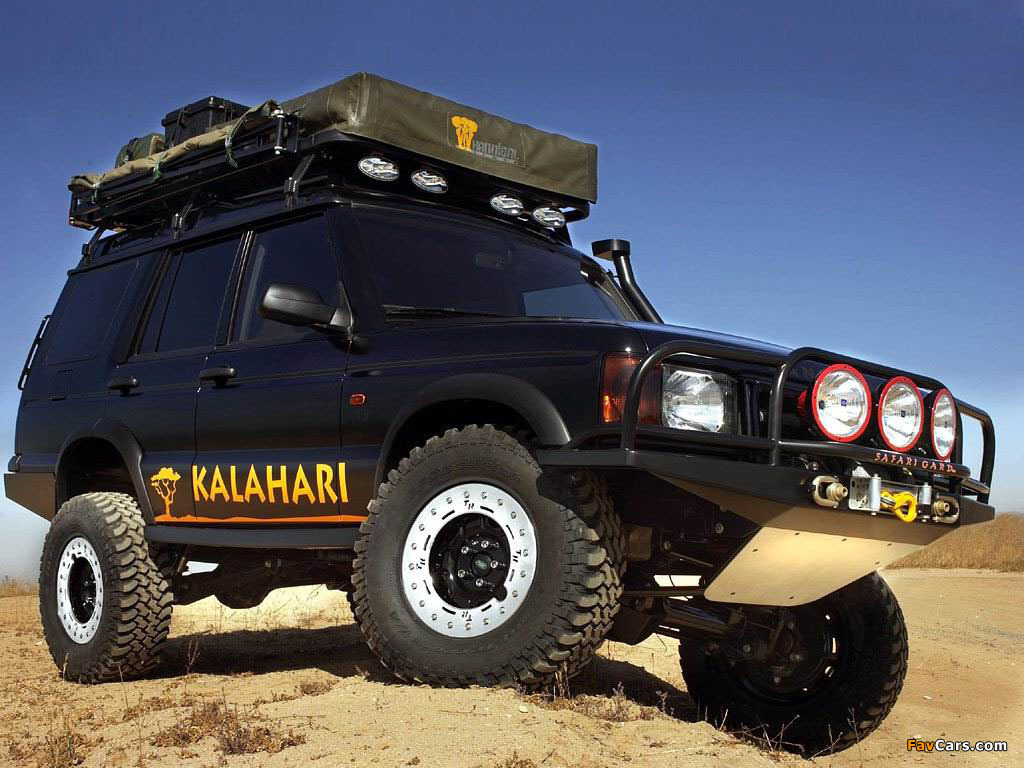 Land Rover Discovery Td5 Accessoriesland Kalahari Defender Parts Catalogue Concept 2001 Wallpapers