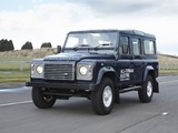 Photos of Land Rover Electric Defender Research Vehicle 2013