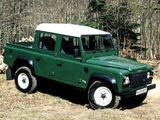 Images of Land Rover Defender 110 Double Cab Pickup UK-spec 1990–2007