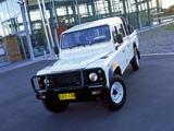 Land Rover Defender 130 Double Cab Pickup AU-spec 1990–2007 pictures