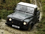 Land Rover Defender 90 Pickup UK-spec 2007 pictures